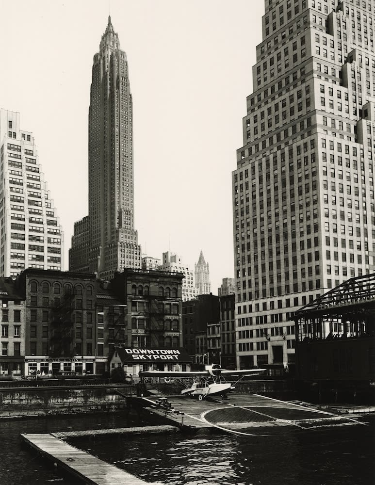 Berenice Abbott, Downtown Skyport, New York, 1936