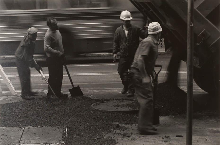 Tom Arndt, Street workers, New York City, 1979