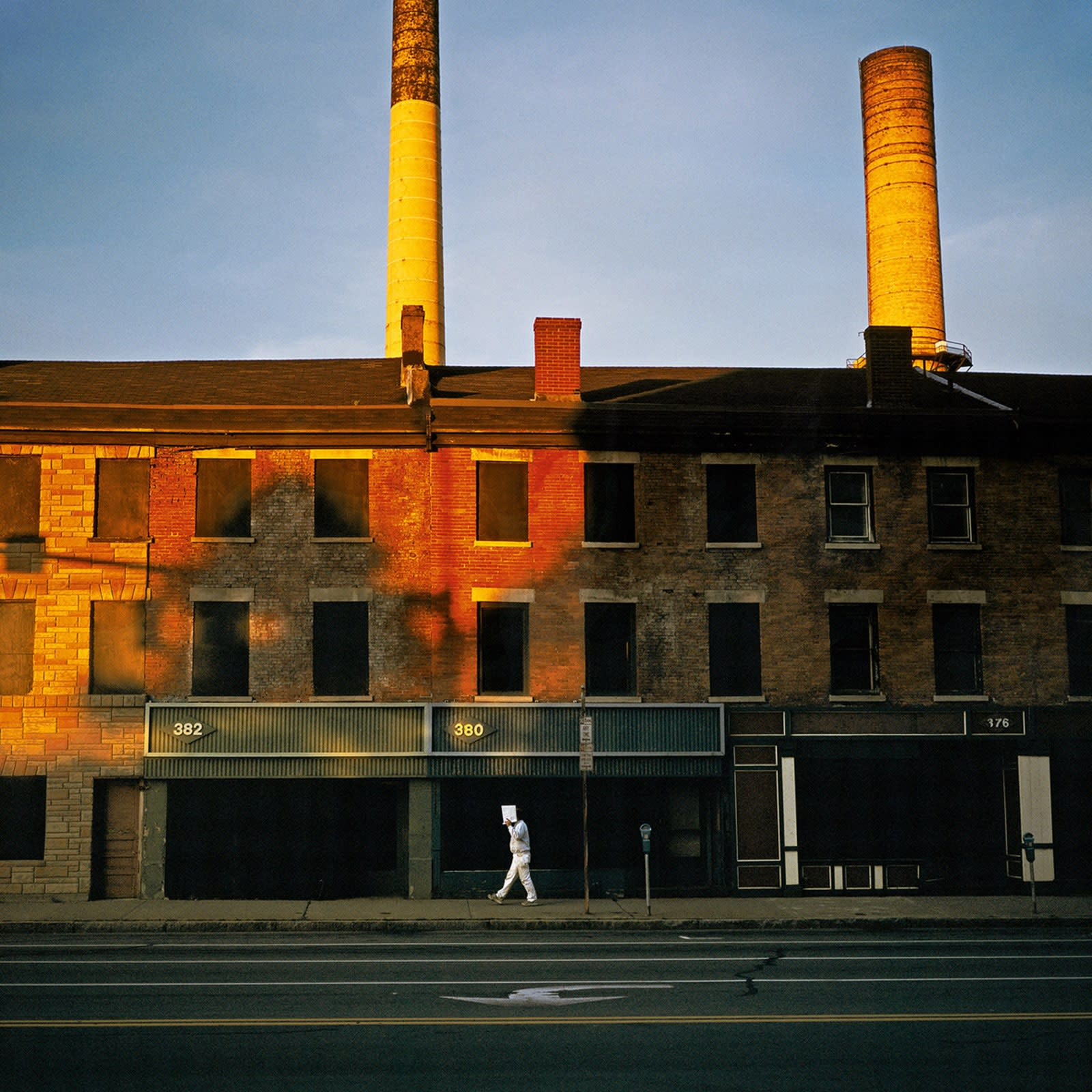 Jean-Christophe Béchet Kodak City, Rochester, NY Tirage Ilfochrome (Cibachrome) Dim. papier: 40 x 50 cm
