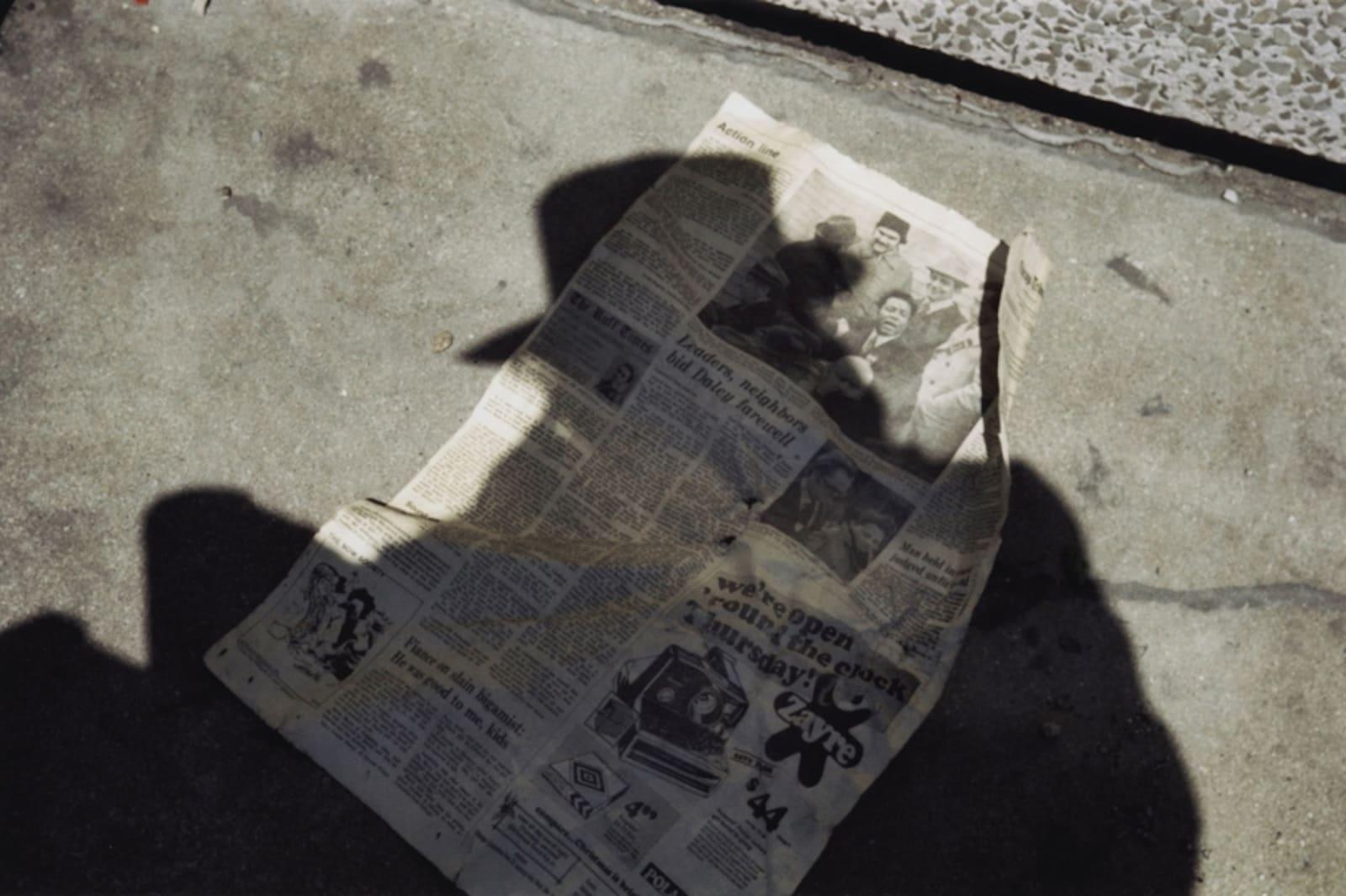 Vivian Maier, Self-portrait, Chicago area, May, 1977