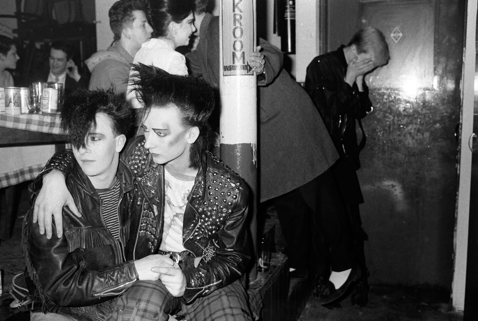 Homer Sykes, George O'Dowl as Boy George at the Blitz Club, Covent Garden, London, 1980