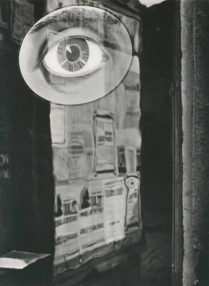 Jaromir Funke, L'oeil, Z cyklu 'Cas trva' (du cycle 'Le temps qui dure'), 1932