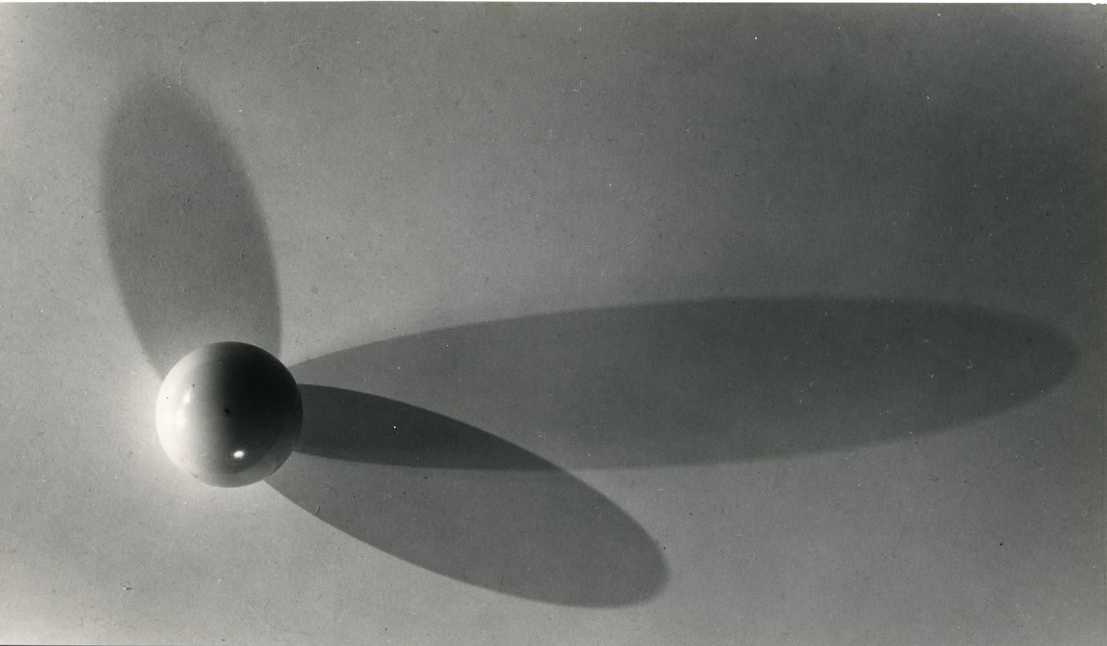 Berenice Abbott, Elliptical shadows, 1958-61