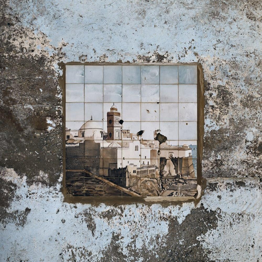 Stéphane Couturier, 'Grande Mosquée d'Alger' - Diar el Mahçoul - Céramique n°3, 2012