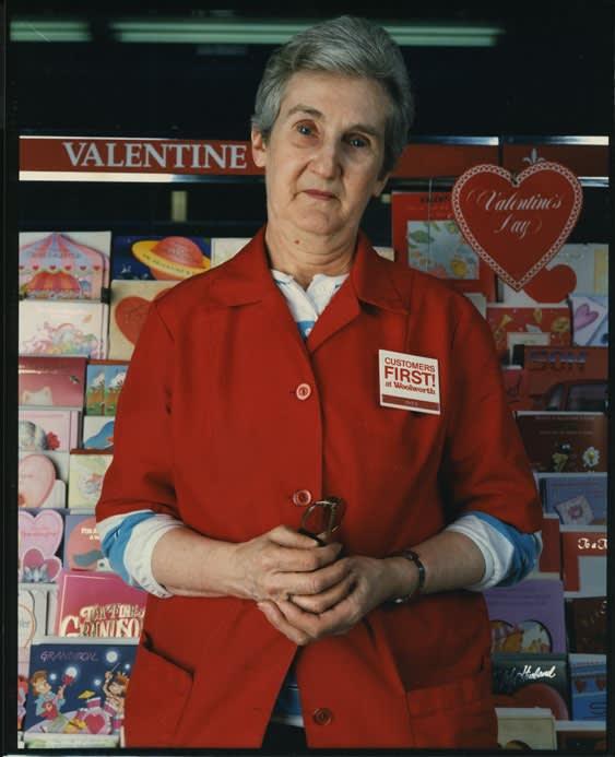 Bruce Wrighton, Clerk at Woolworths, Binghamton, NY, 1987