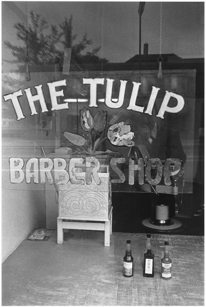 Tom Arndt, The Tulip Barbershop, Minneapolis, Minnesota, 1970