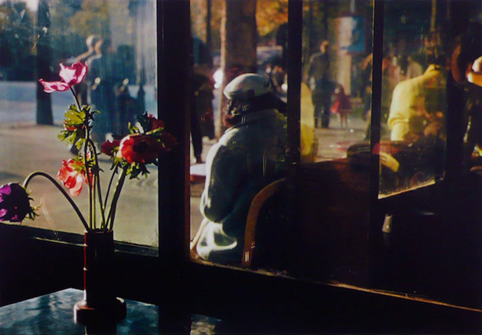 Ernst Haas, Paris café, 1950