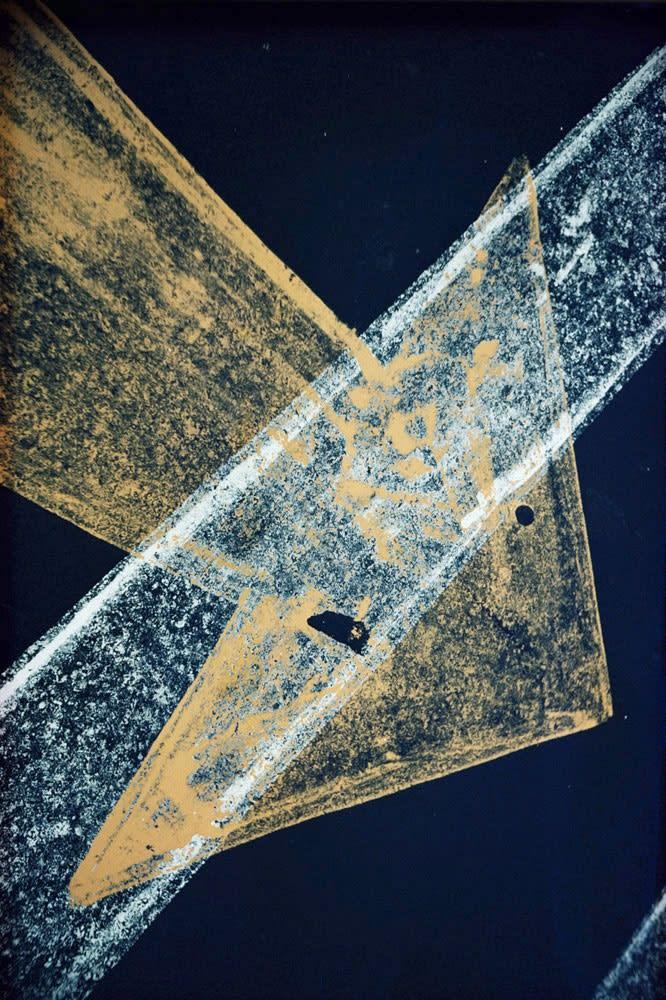Ernst Haas, Pavement, New York, 1962