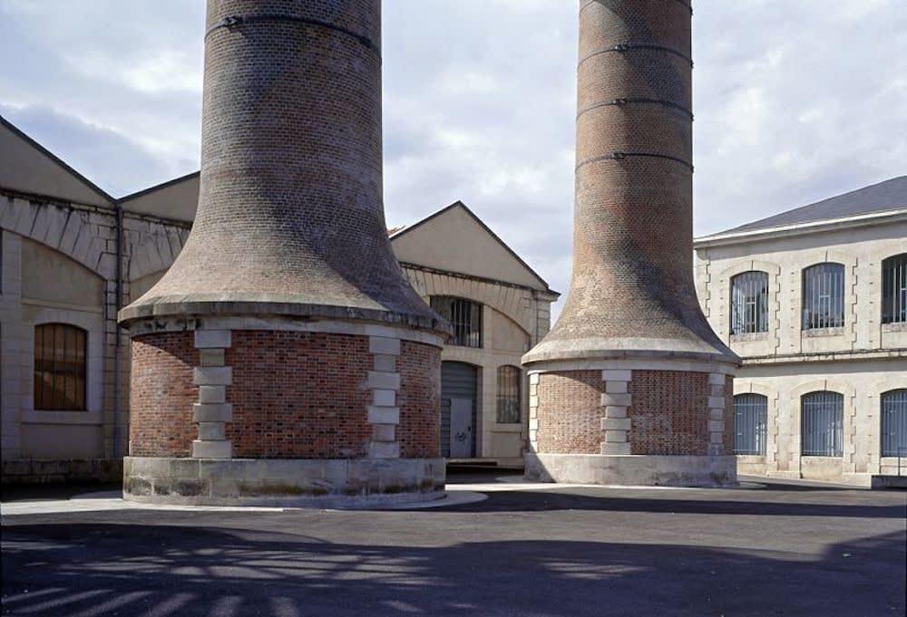 Georges Fessy La manufacture de Châtellerault Tirage argentique sur papier Kodak Endura Dim. papier: 80 x 100 cm