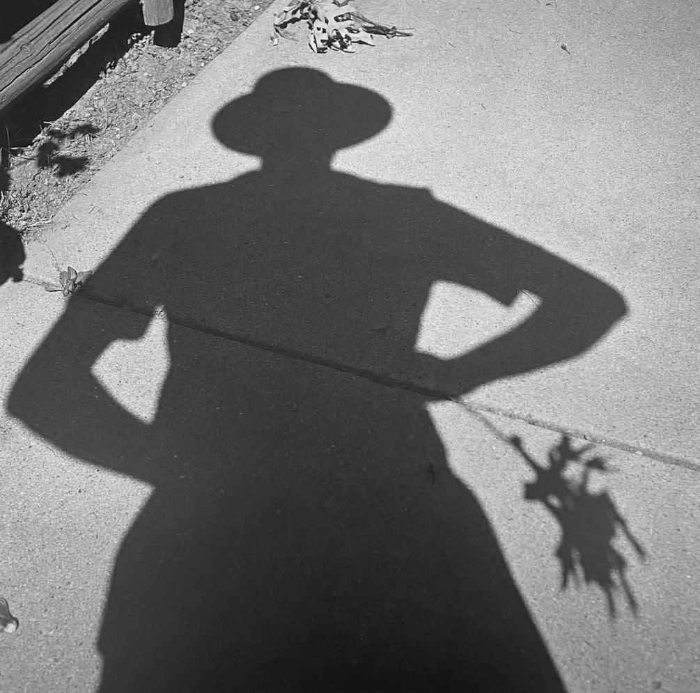 Vivian Maier, Untitled, self-portrait, 1956