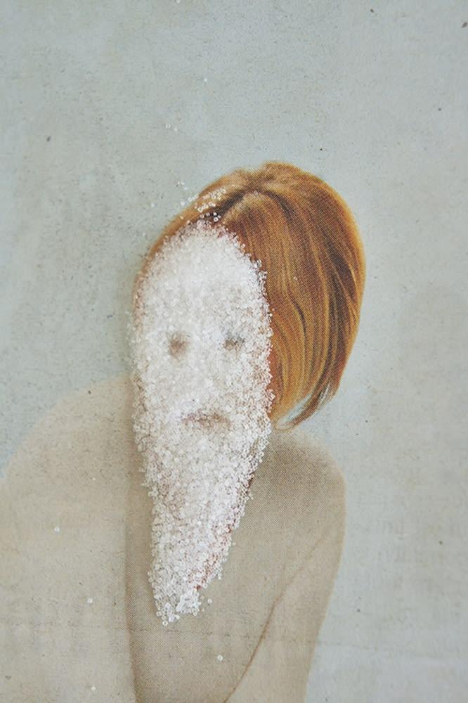 Paul Pouvreau Mascarade Tirage pigmentaire sur papier Platine Fibre Rag 310gr. Canson 50 x 33,5 cm Dim. papier: 50 x 33,5 cm