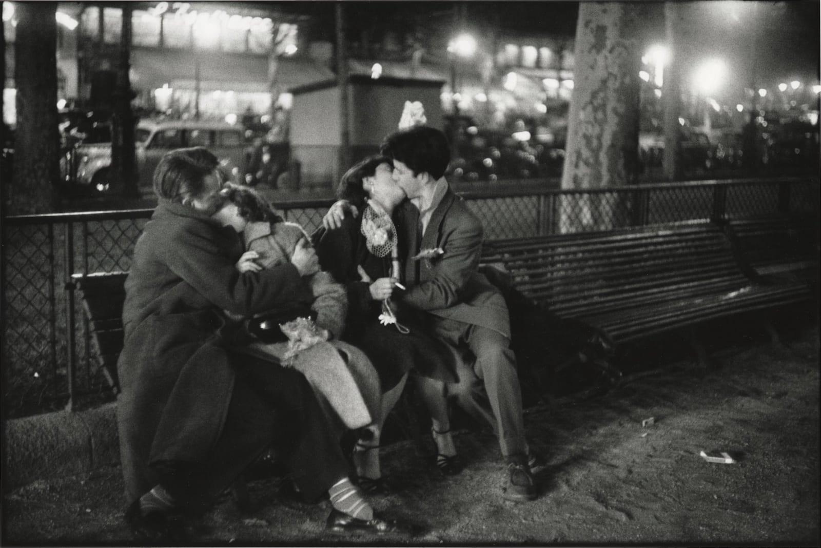 Sabine Weiss, Paris, 1954