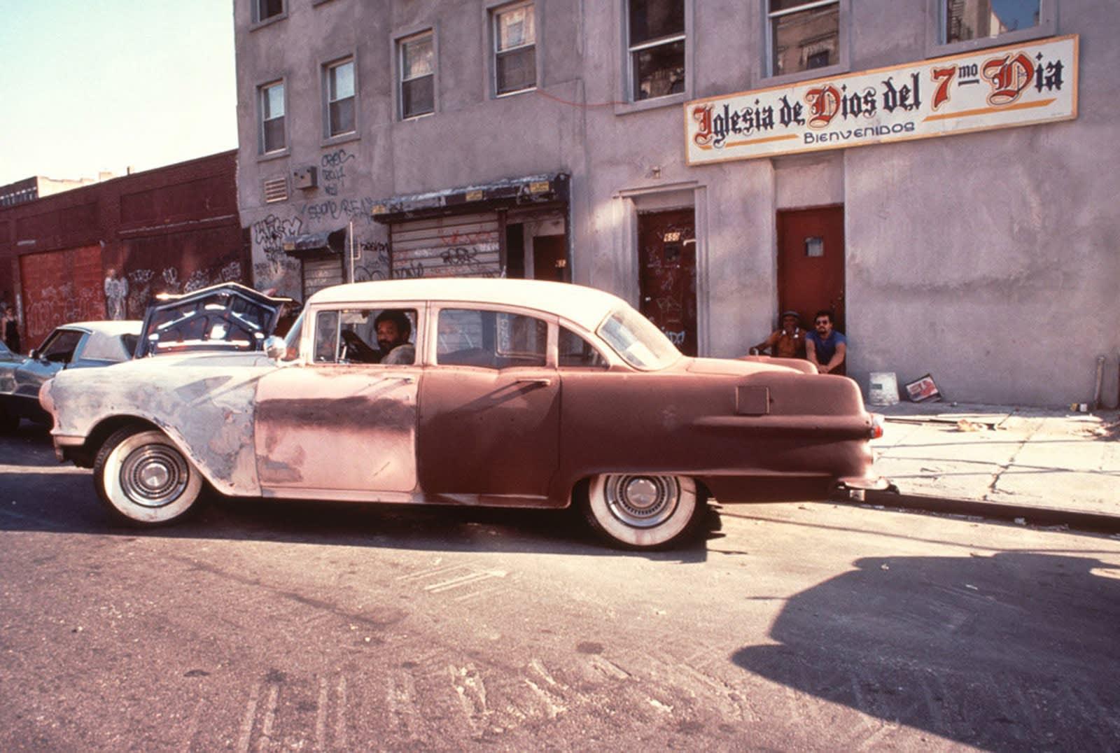 Arlene Gottfried, Buick, East 6th Street, 1985