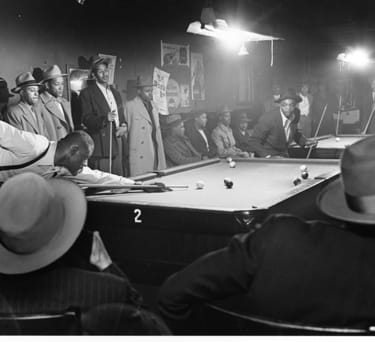 Wayne F. Miller, Afternoon game at table, 1946-1948