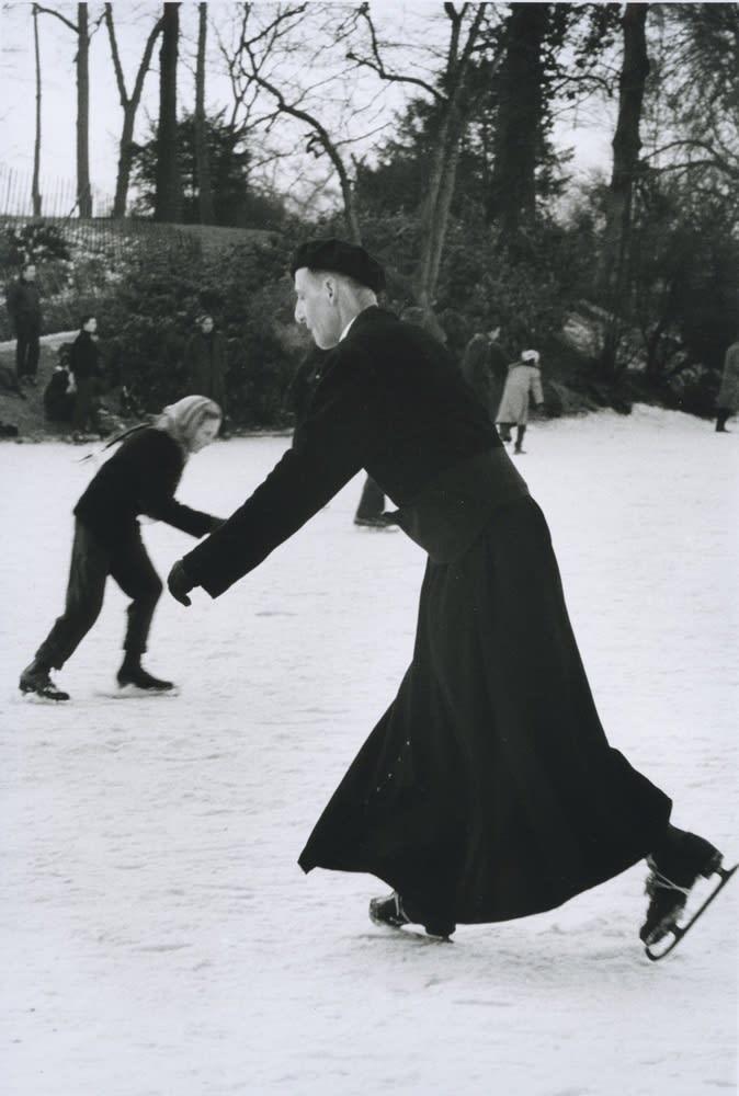 Sabine Weiss, Paris, Bois de Boulogne, 1956