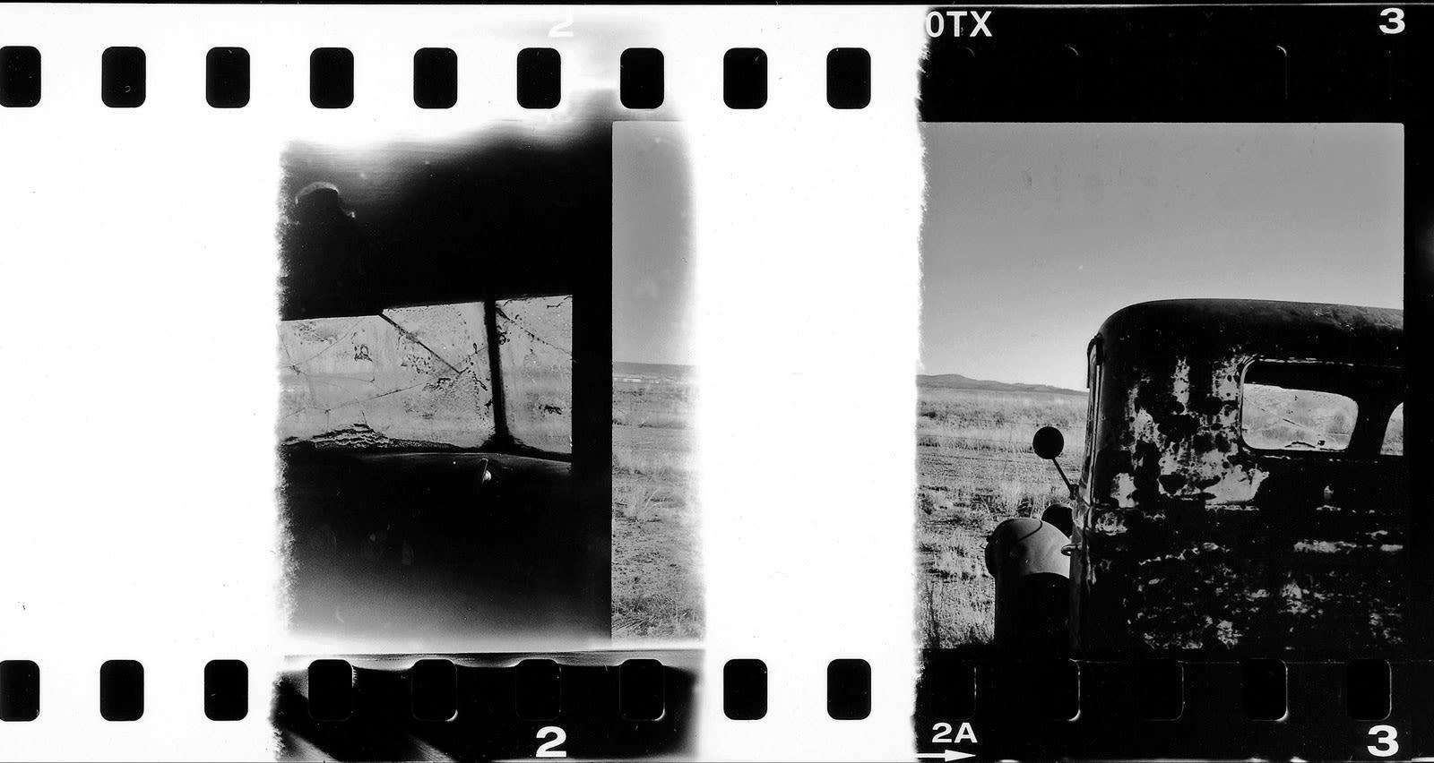 Jean-Christophe Béchet Californie Tirage argentique noir et blanc baryté Dim. papier: 55,5 x 112