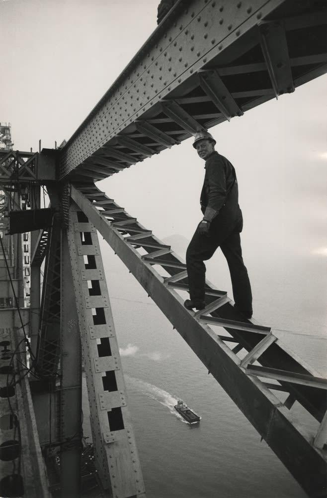 Ernst Haas, Golden Gate Bridge, San Francisco, California, 1960