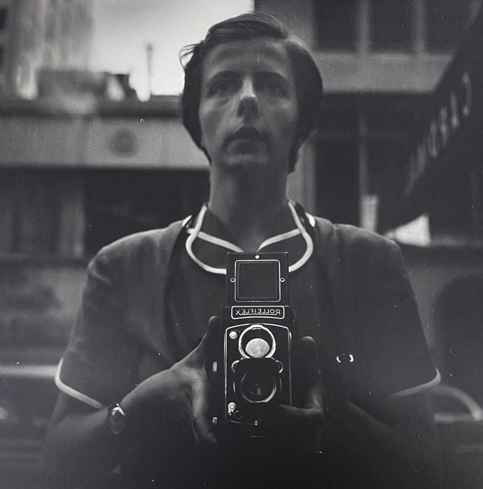 Vivian Maier, Self-portrait, New York, NY, 1954
