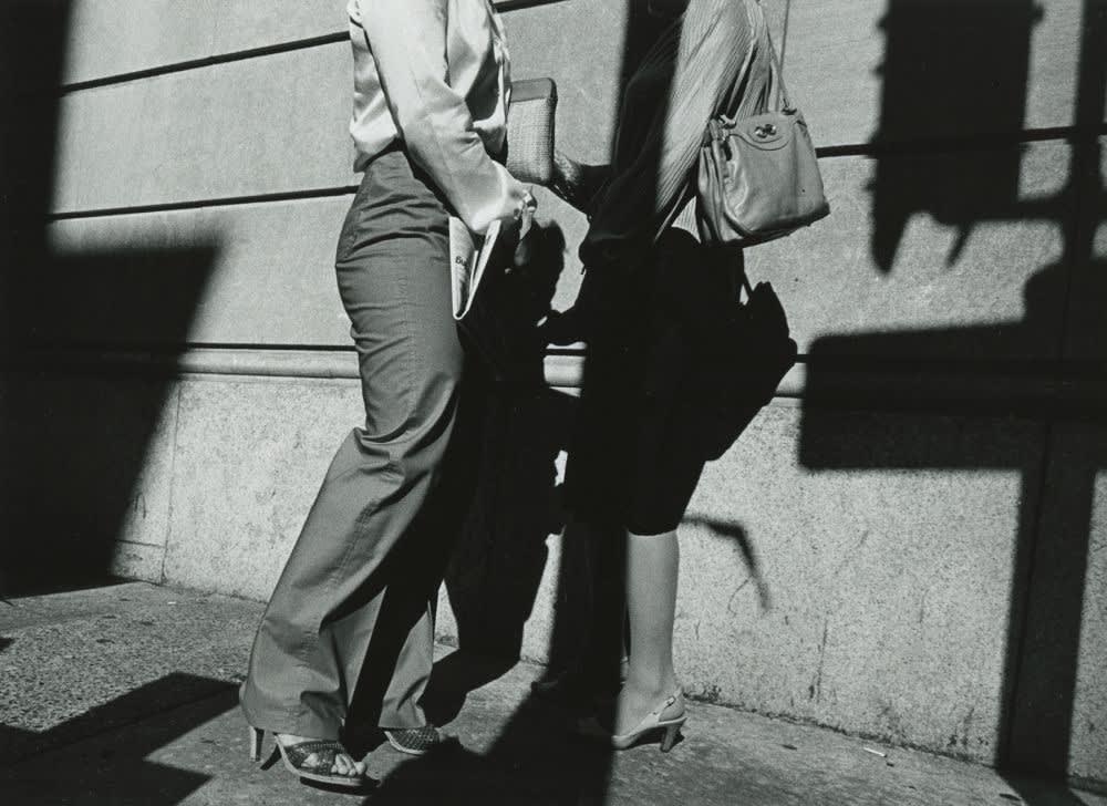 Ray K. Metzker, City Whispers, Philadelphia, 1981