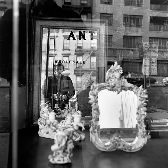 Vivian Maier Self-portrait Tirage gélatino-argentique, posthume