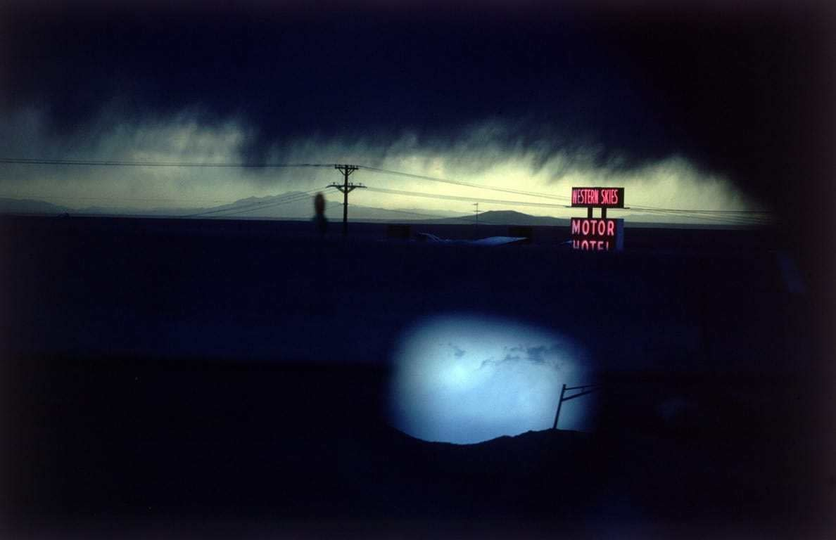 Ernst Haas, Western Skies Motel, New Mexico, USA, 1978