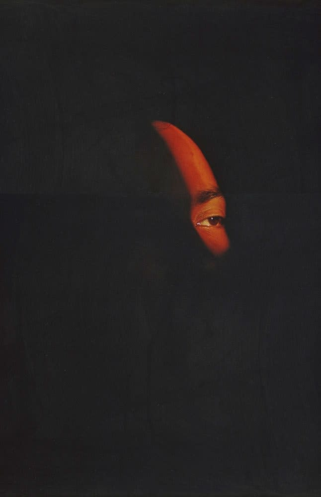 Arlene Gottfried Midnight Light on One Eye Cibachrome, tirage d'époque réalisé par David Gray Dim. papier: 28 x 35,5 cm