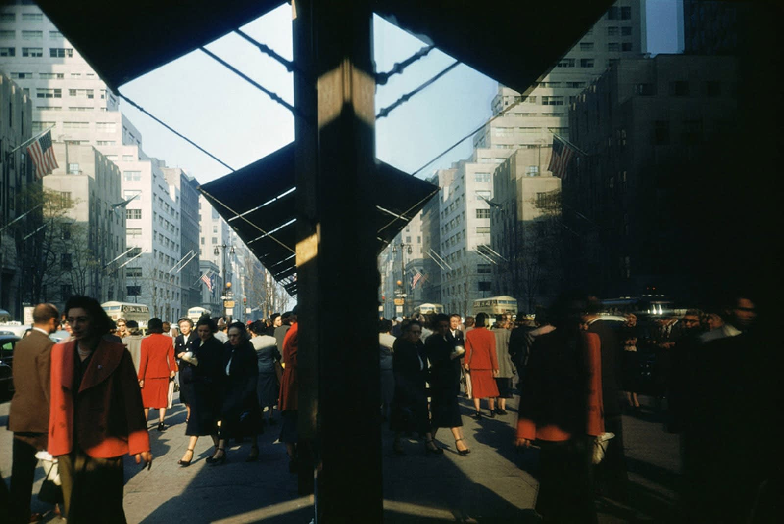 Ernst Haas, New York City II, USA, 1953