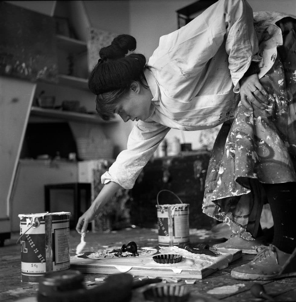 Sabine Weiss, Niki de Saint Phalle, Paris, 1958