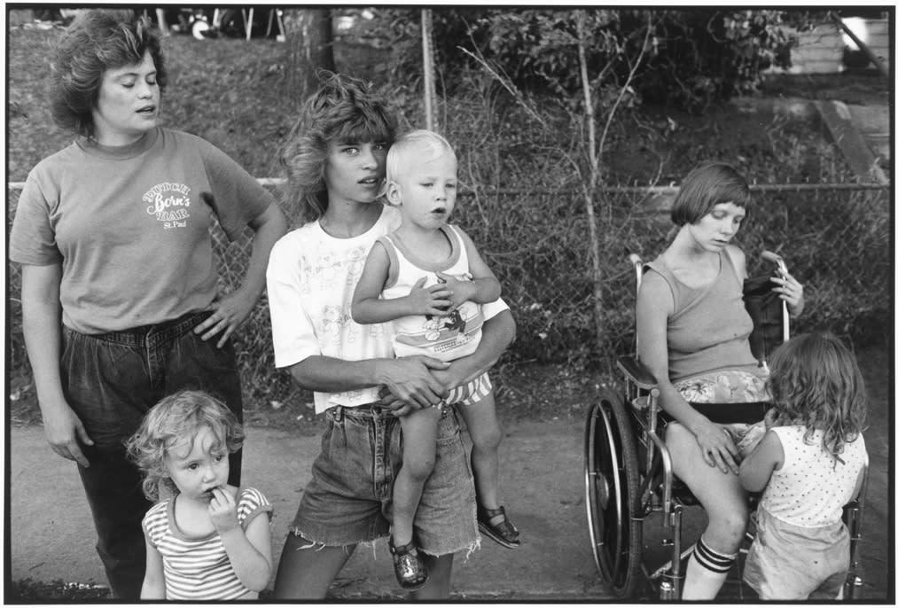 Tom Arndt, Family, St. Paul, Minnesota, 1988