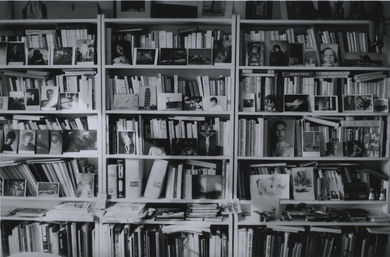 Hervé Guibert, La bibliothèque, 1986