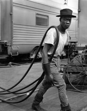 Wayne F. Miller, Railroad Maintenance Man, 1946-1948