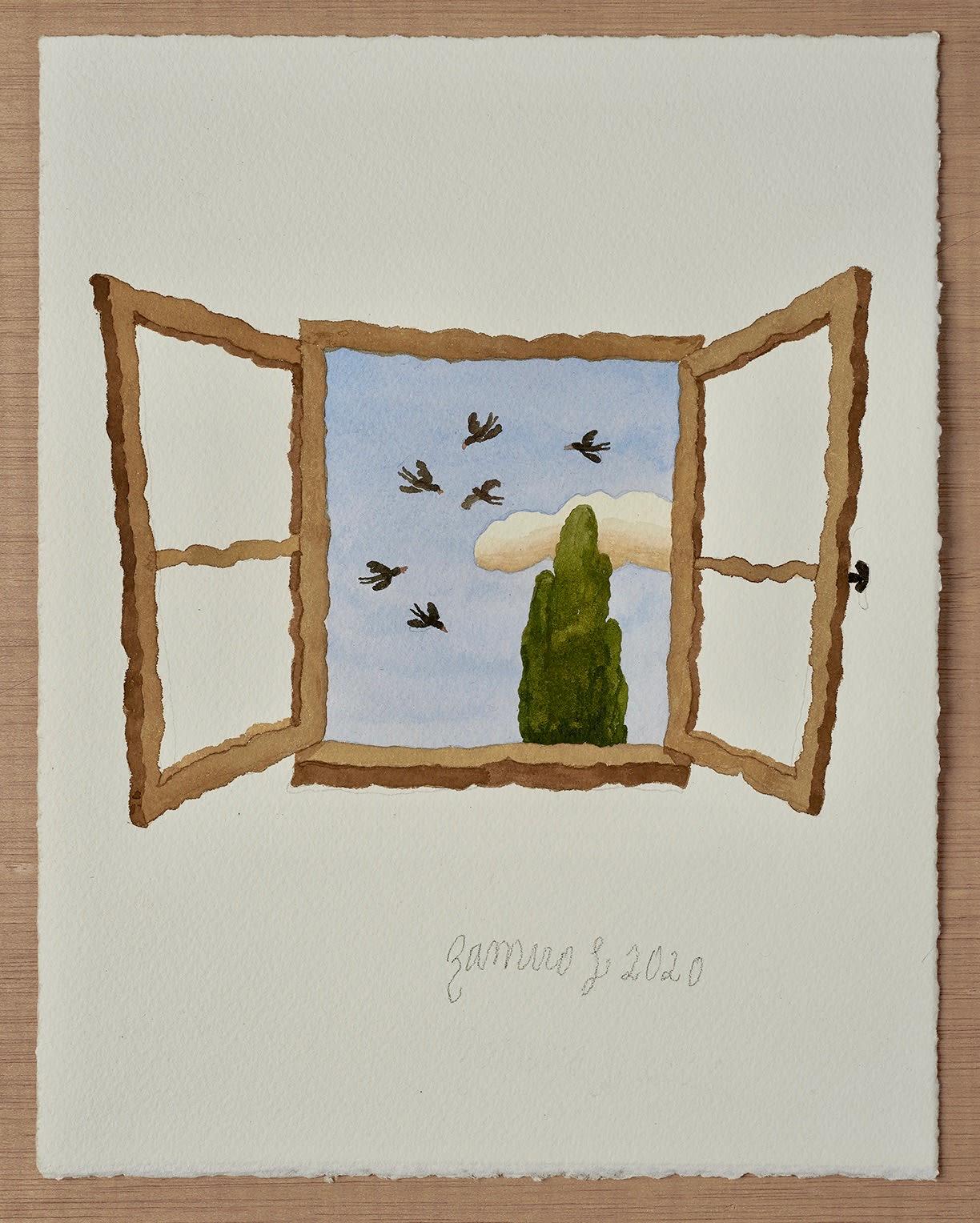 Ramiro Fernandez Saus, Open Window, 2020