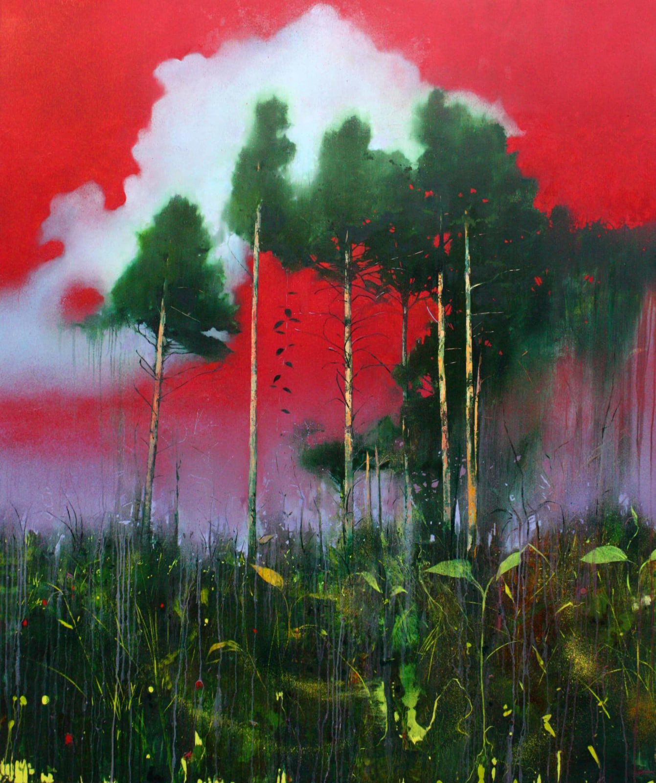 Nick Archer, Red Sky at Night, 2014