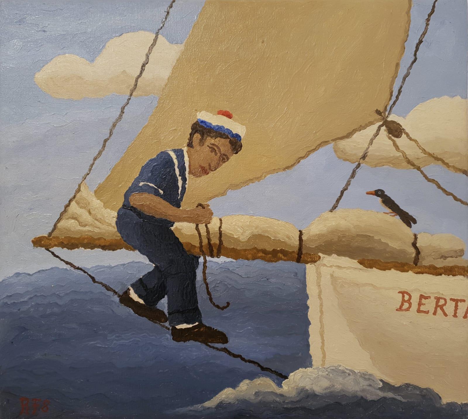 Ramiro Fernandez Saus, A Sailor's Diary II, 2003