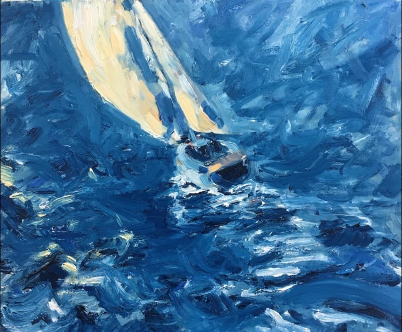 RICHARD GOWER, Yacht in High Seas