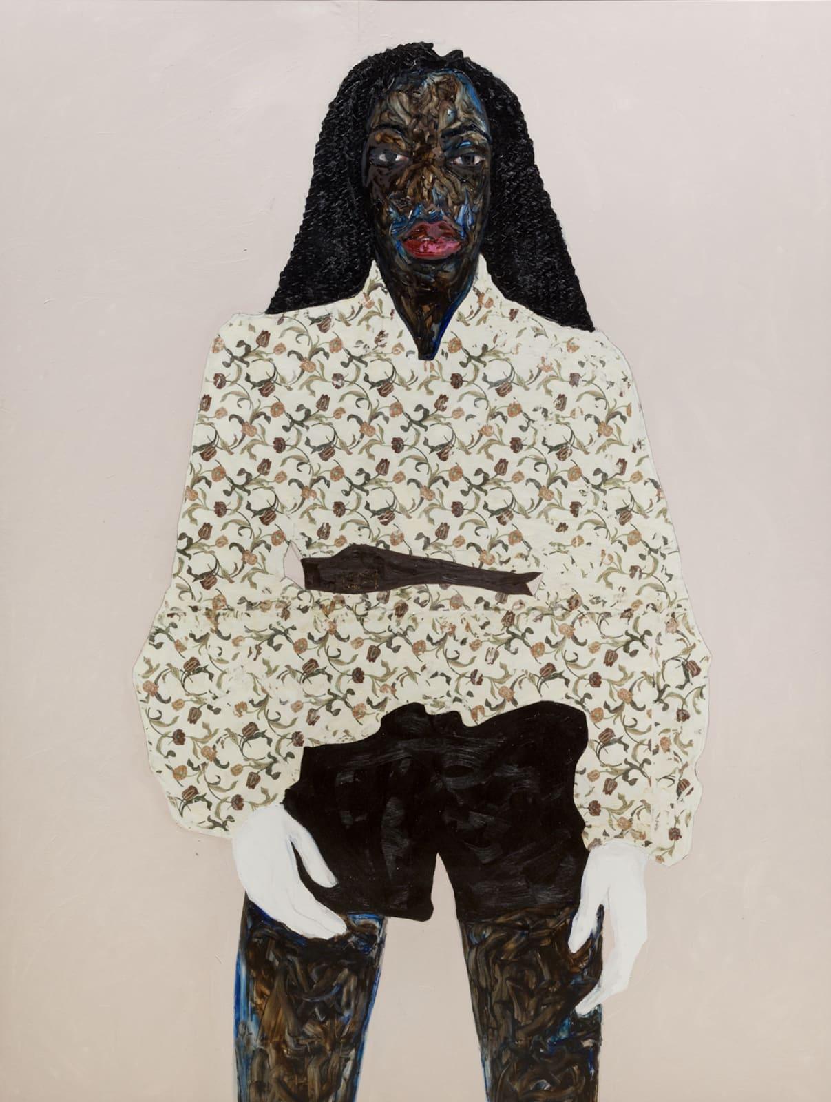 Amoako Boafo, Umber Brown Belt, 2020