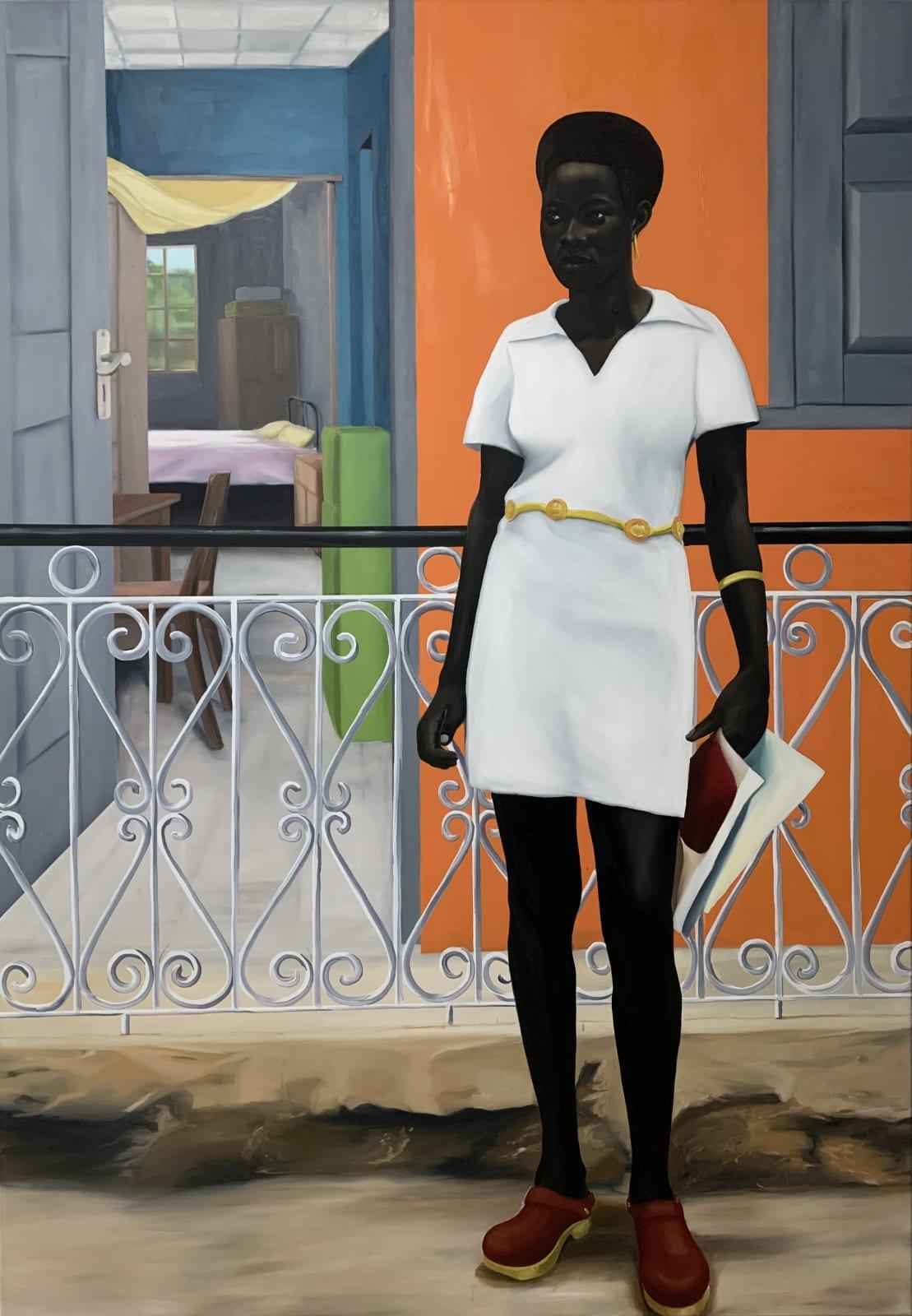 Peter Uka, Front yard things, 2020