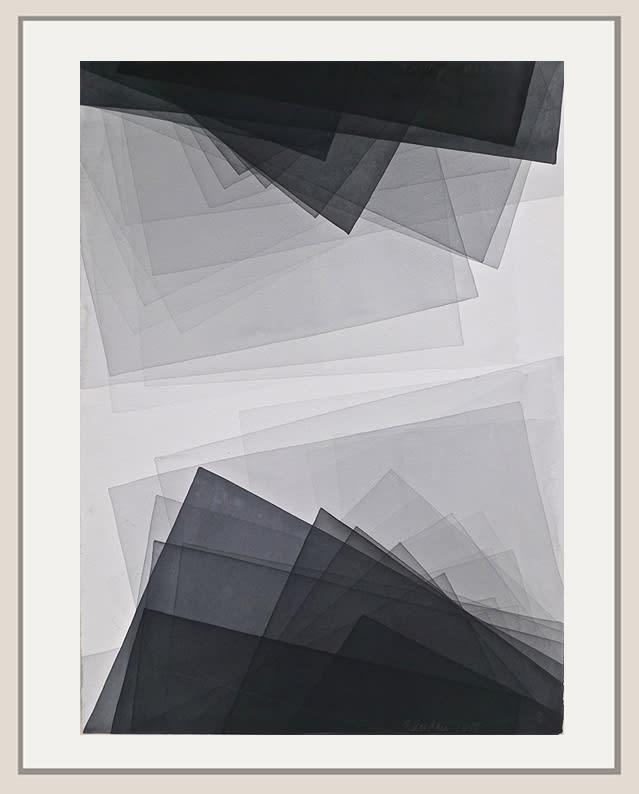 Joachim Bandau, Untitled, 2018