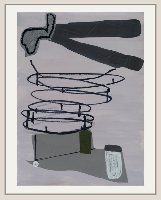 Medrie MacPhee, Spiralling Up, 2018