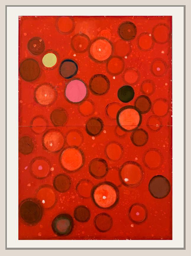 Landon Mackenzie, Noja Red Dot, 2019