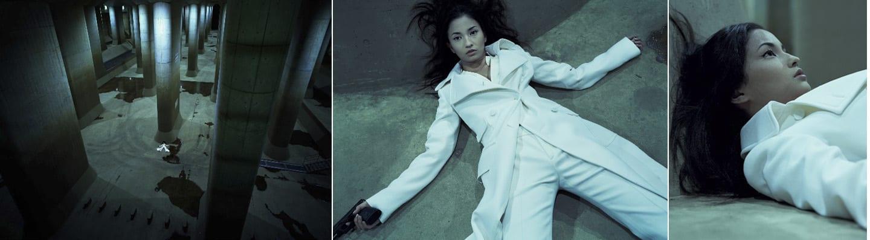 Izima Kaoru, Kuroki Meisa wears Gucci #46, 2006