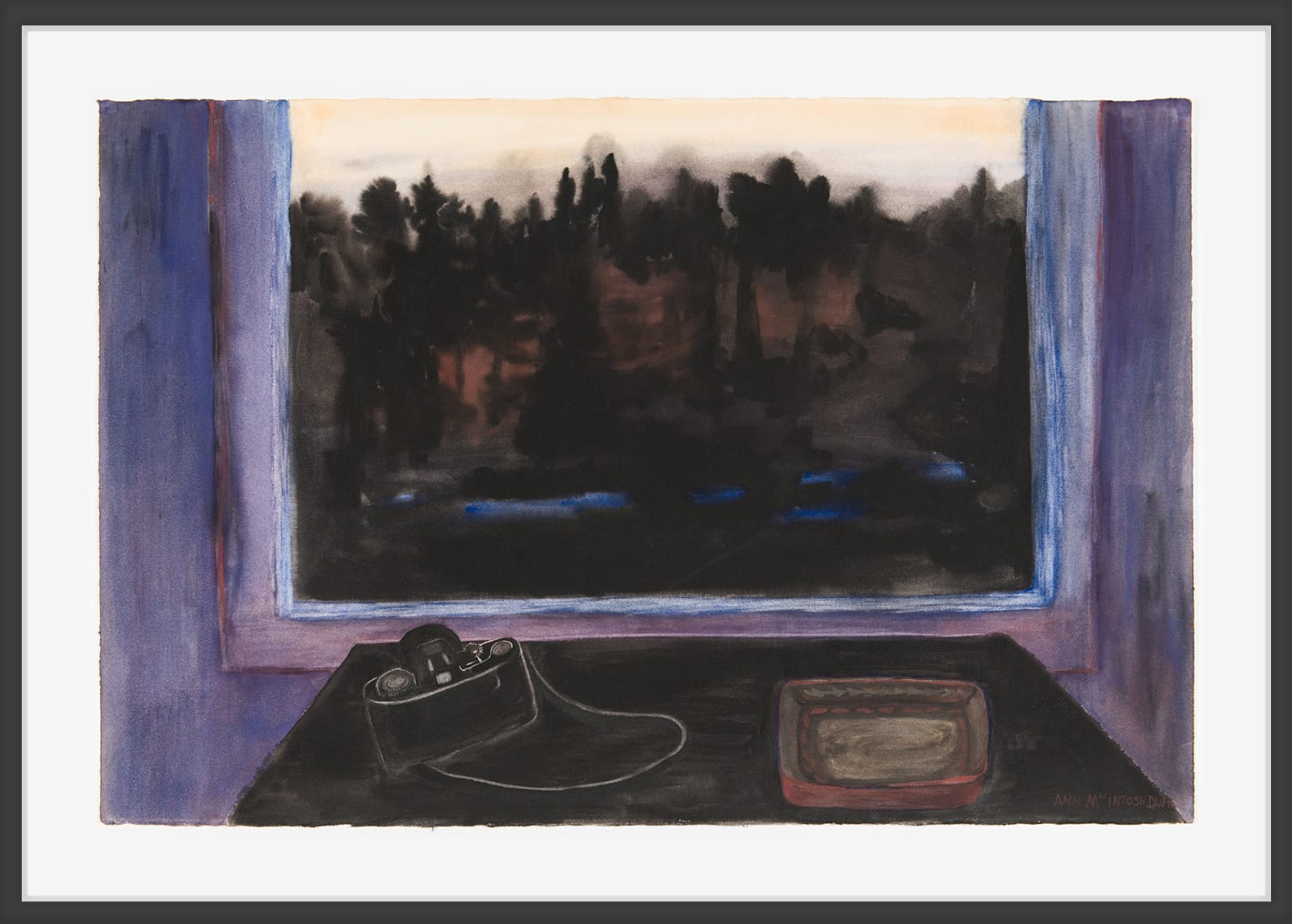 Ann MacIntosh Duff, Late Evening View (Capture), c. 1995
