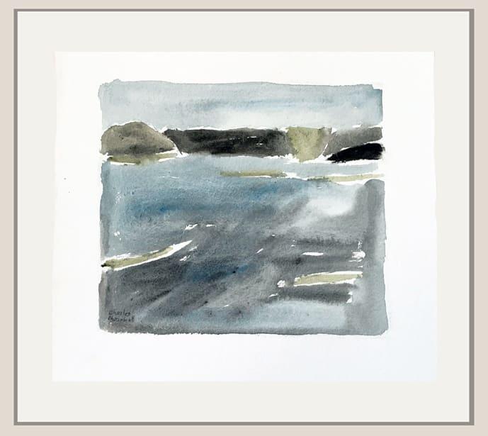 Charles Meanwell, Blue Field, 2020