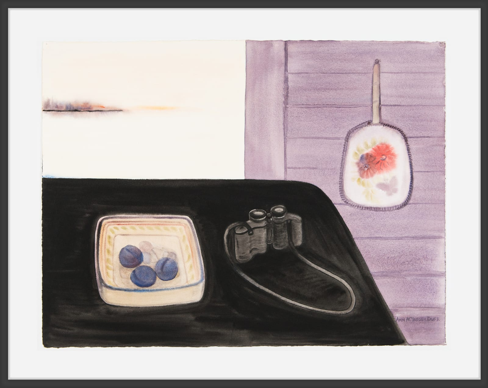 Ann MacIntosh Duff, View (with Plums), c. 1993
