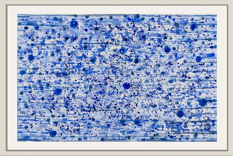 Landon Mackenzie, Noja #1 (Blue + Wind), 2019