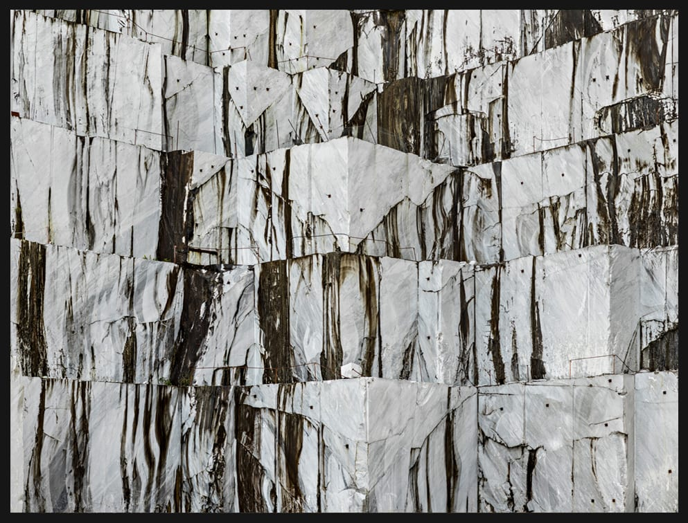 Edward Burtynsky, Carrara Marble Quarries, Cava di Canalgrande #1, Carrara, Italy, 2016