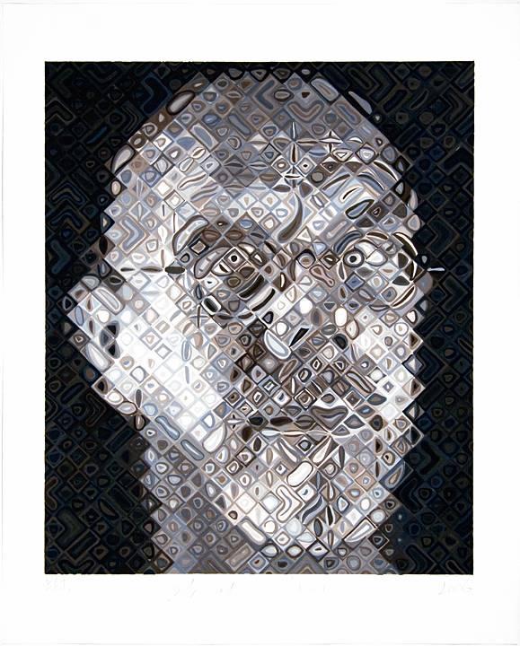 Chuck Close, Self-Portrait, 2007