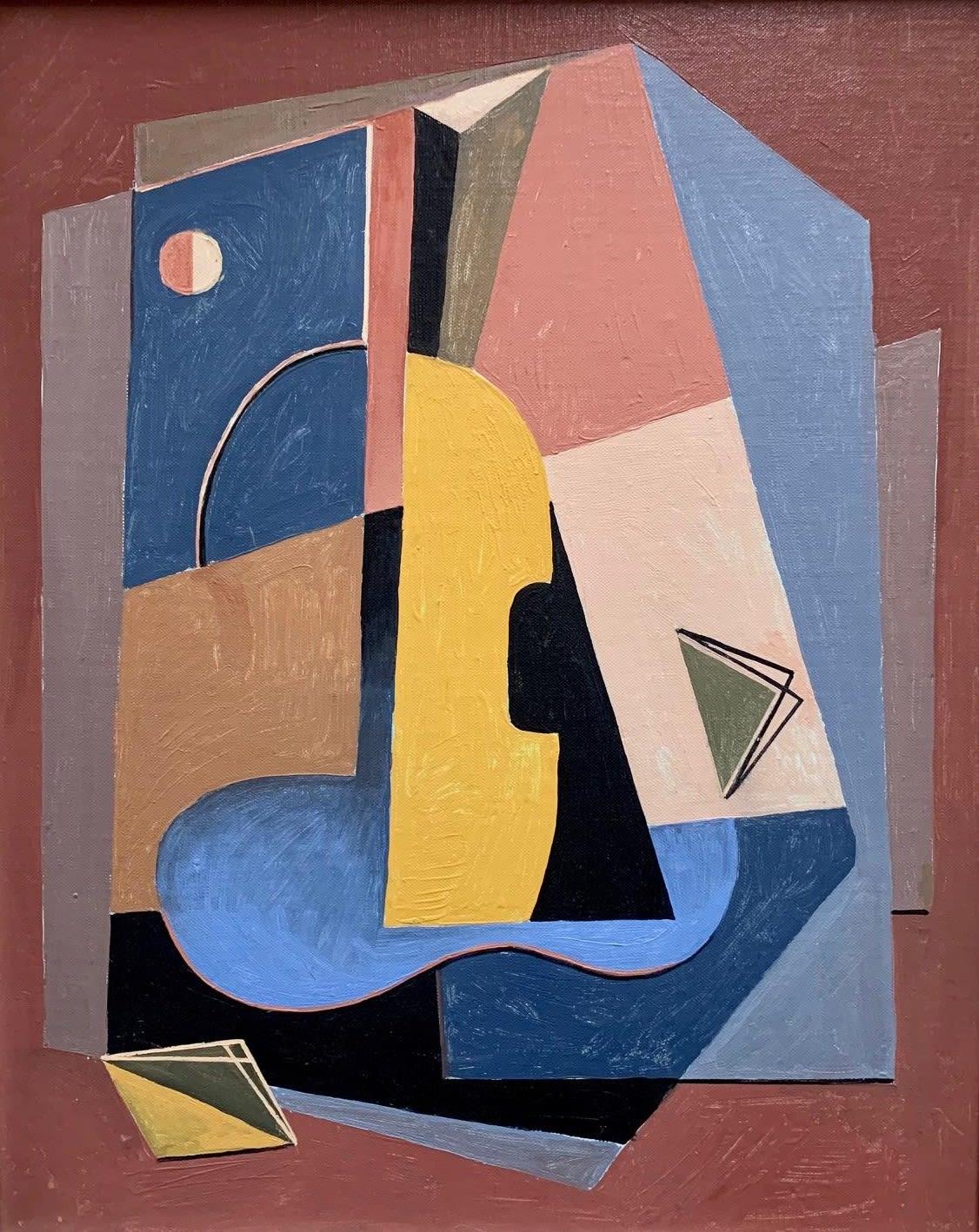 Albert Eugene Gallatin, Untitled Abstract, 1944