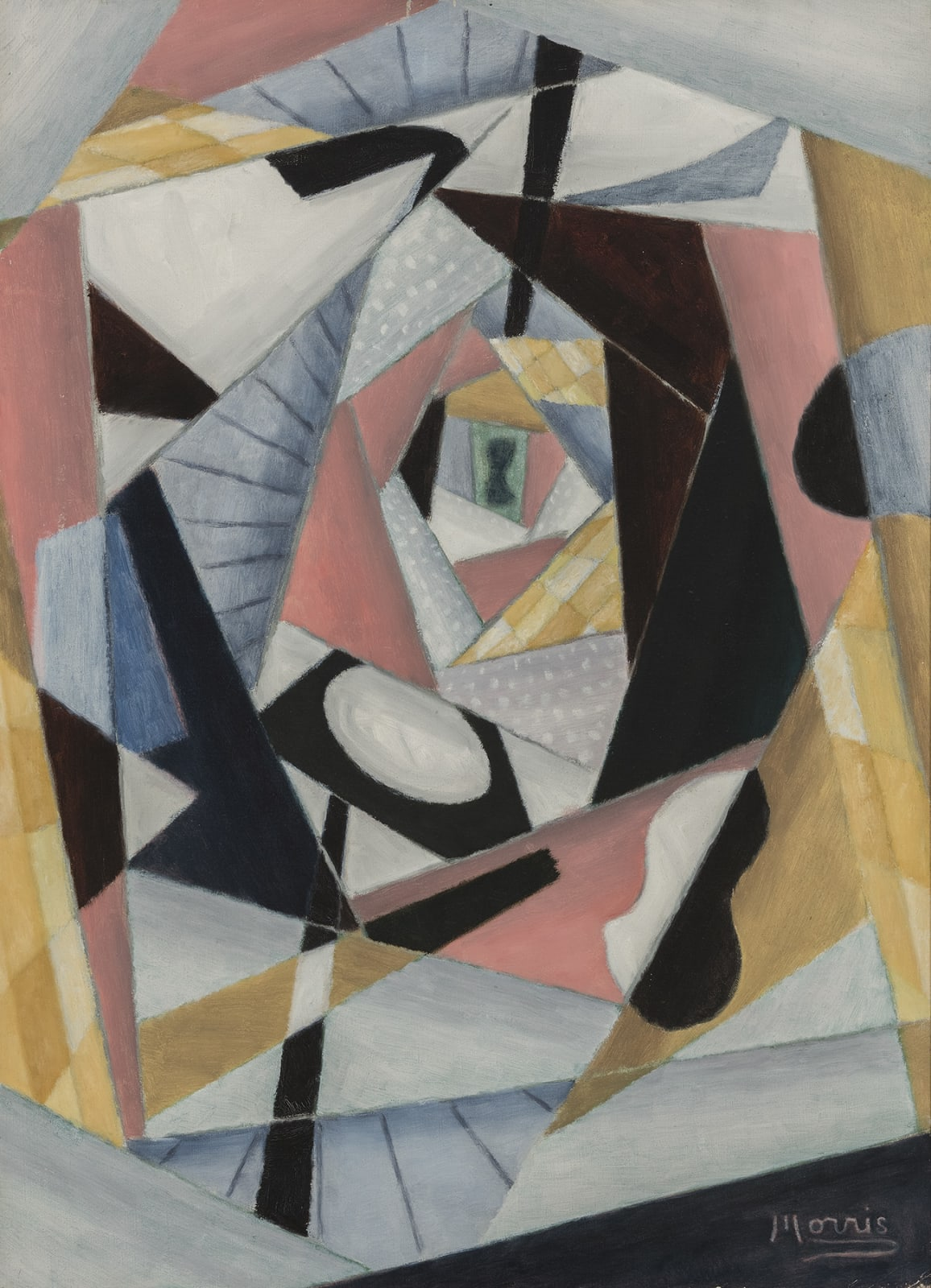 George L. K. Morris, Labyrinth No. 1, 1955-56