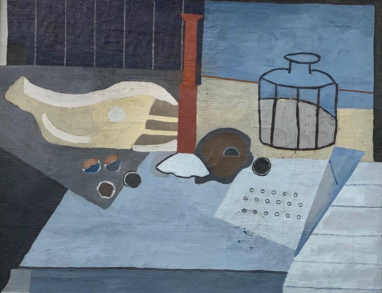Albert Eugene Gallatin, Still Life with Jug, 1944